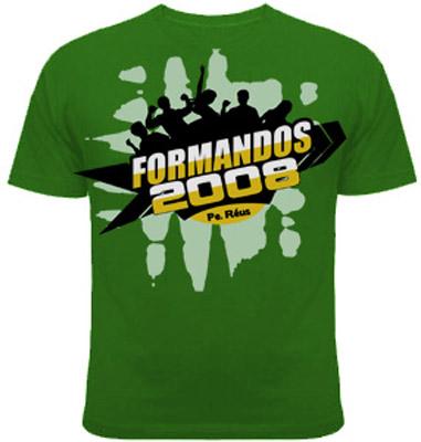 camisetas para formandos