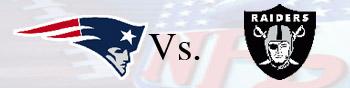 Semana 4 Patriots X Raiders