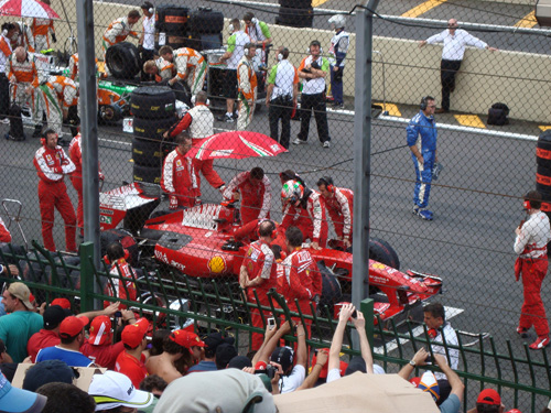 paddock formula gp brasil 2011