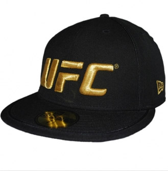 bone-UFC-new-era-preto-dourado