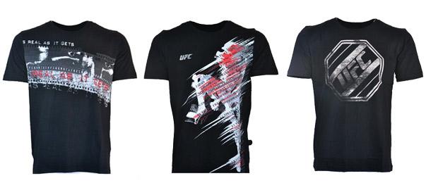 camisetas preta do ufc