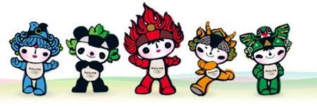 mascote-Beibei-Jingjing-Huanhuan-Yingying-Nini