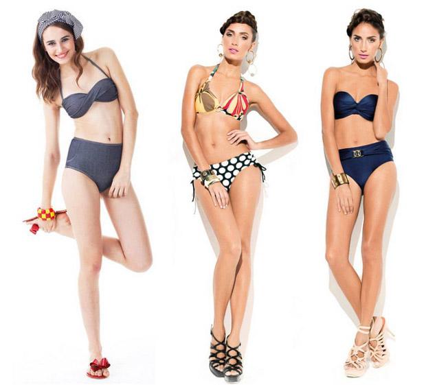 tendencia moda praia 2013