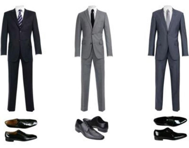 traje passeio completo para homens