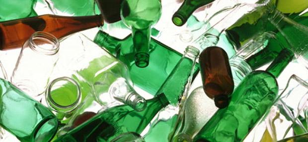embalagem de vidro